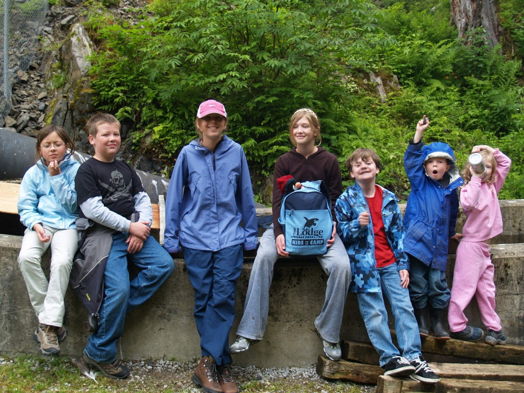Pollard family hike through Tongass National Forest