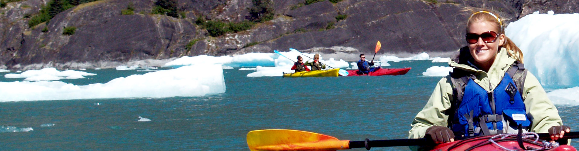 Kayaking in LeConte Glacier Fjord with The Lodge at Whale Pass